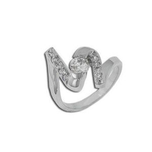 925 Silver Squiggle Ring